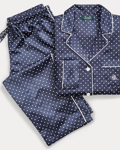 Pyjama aus Satin