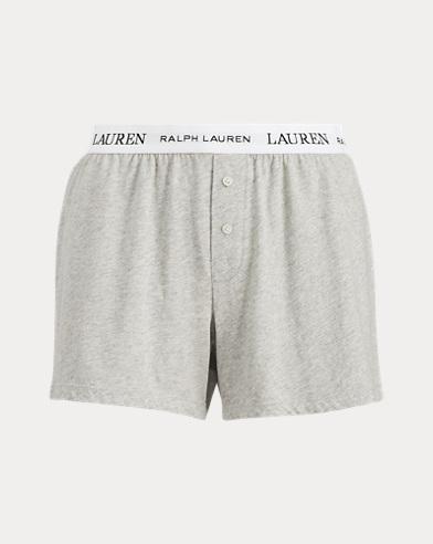 Cotton Jersey Boxer Short