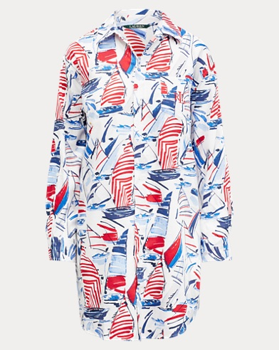 Boat Sateen Sleep Shirt