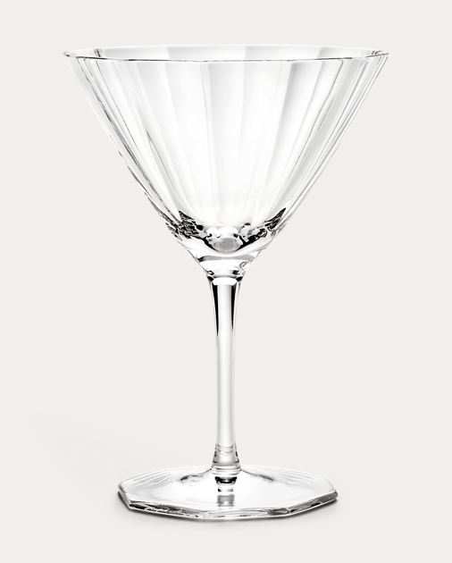 Isabel Crystal Martini Glass