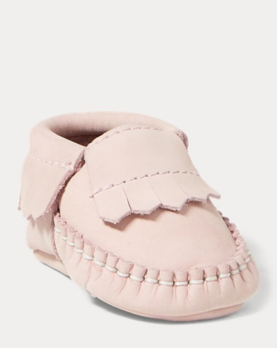 Mickoh Nubuck Moccasin Bootie