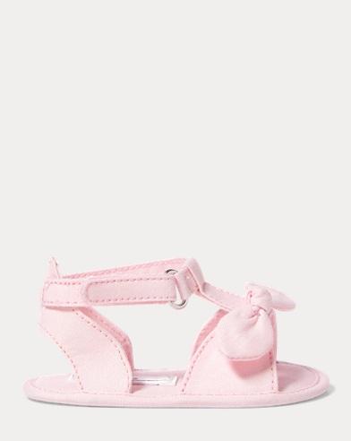 Zoii Cotton Oxford Sandal