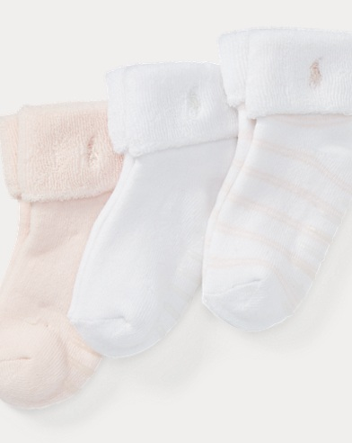 Striped Terry Sock 3-Pack