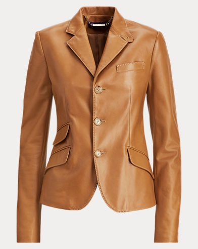 Alastair Nappa Leather Jacket