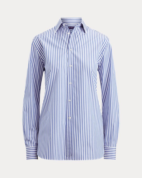 Adrien Striped Cotton Shirt