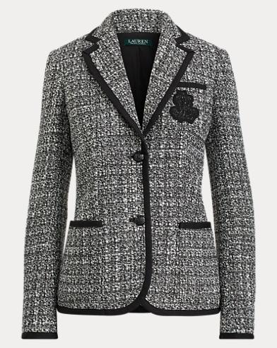 Bullion Crest Tweed Jacket