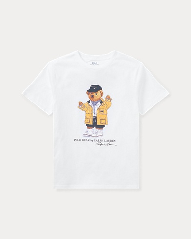 Big Kid Raincoat Bear T-Shirt