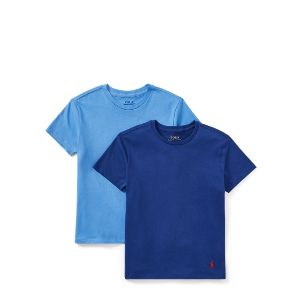 Ralph Lauren Cotton V-Neck 2-Pack Navy/Blue M
