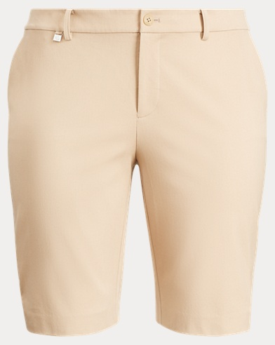 Stretch Cotton Twill Short