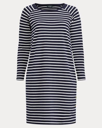 Striped Jersey T-Shirt Dress