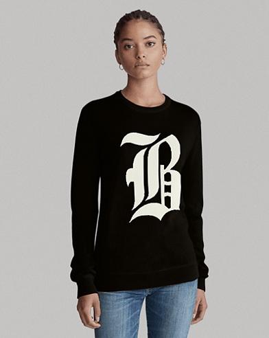 Custom Wool Crewneck Sweater