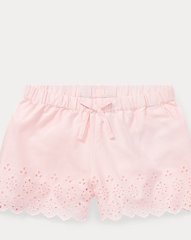 Eyelet Cotton Batiste Short