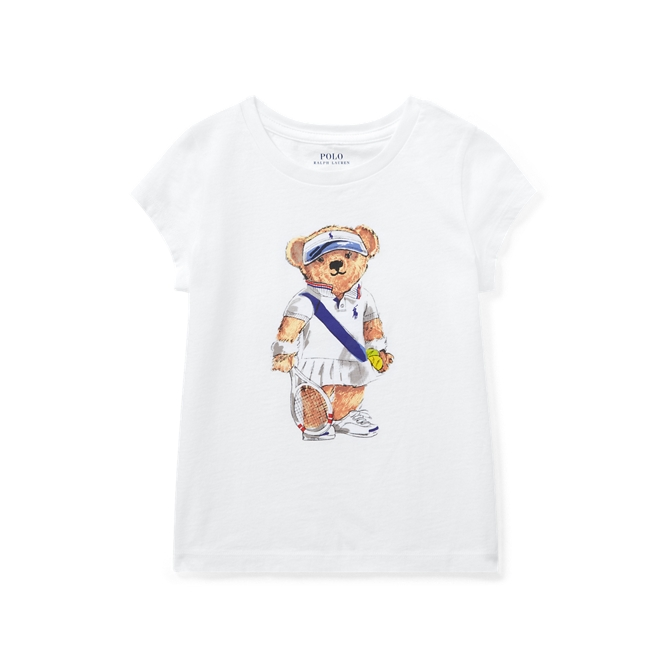 Tennis Bear Cotton T Shirt