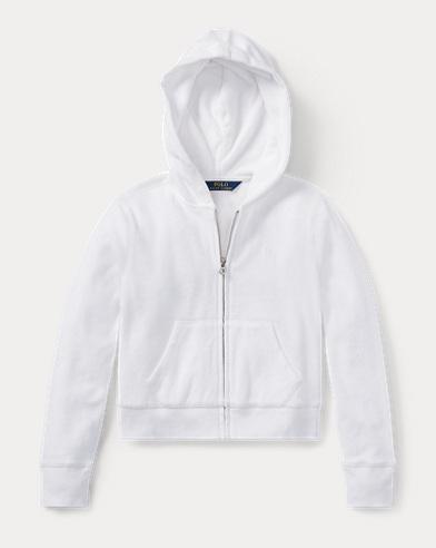 Cotton Terry Full-Zip Hoodie