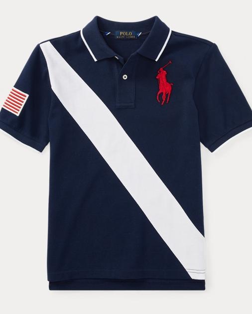 Big Pony Cotton Mesh Polo   Ralph Lauren UK eac40ec474db