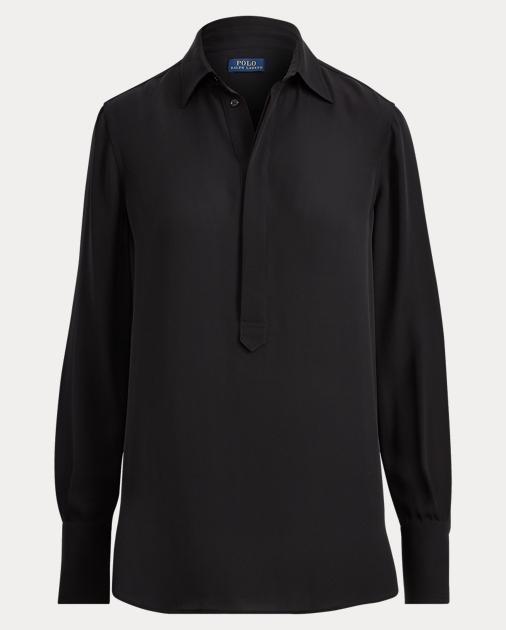 911217d58aec41 produt-image-1.0. produt-image-2.0. produt-image-3.0. produt-image-4.0.  WOMEN CLOTHING Shirts   Blouses Silk Georgette Blouse. Polo Ralph Lauren
