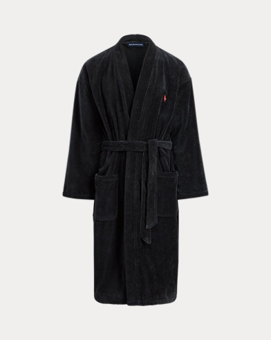 c247123b8e Cotton Velour Kimono Robe. Polo Ralph Lauren