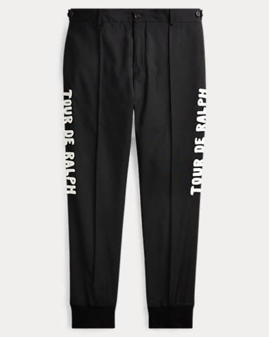 Tapered-Fit Wolljogginghose