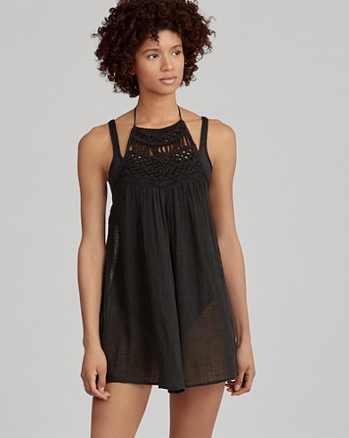 Crocheted Halter Cover-Up
