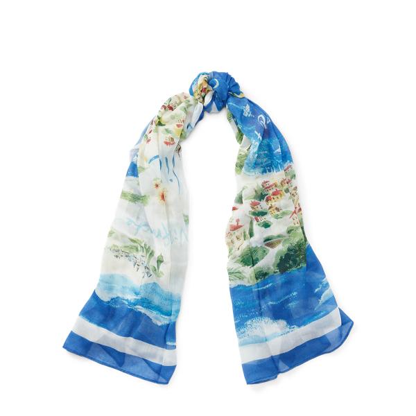 Ralph Lauren Beach-Inspired Wrap French Riviera One Size