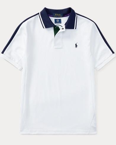 Wimbledon Cotton-Blend Polo
