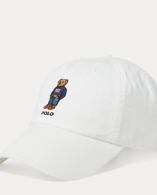 3d55e7d146d Polo Ralph Lauren Sweater Polo Bear Chino Cap 1