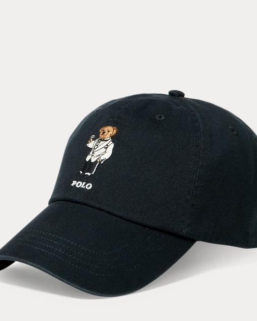 e3ea6ae51 Polo Ralph Lauren Martini Polo Bear Chino Cap 1