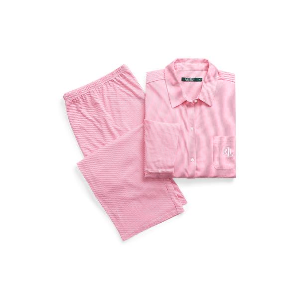 Ralph Lauren Floral Cotton Pajama Set Pinkstp 3X
