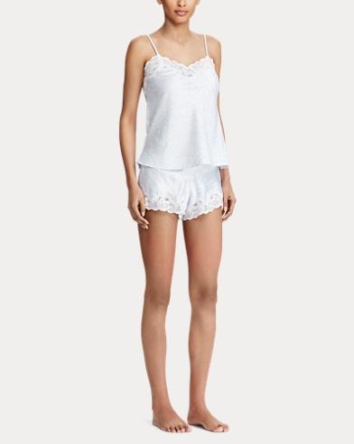 Satin Lace Cami Pajama Set. Lauren f7f3b2844