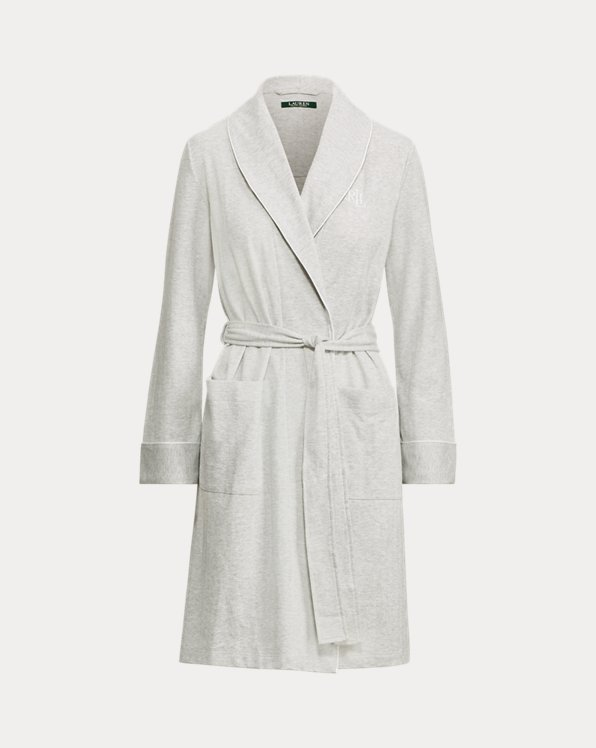 Herringbone Interlock Robe