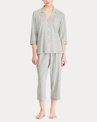 8cd465edd5 Cotton Capri Pajama Set. Lauren