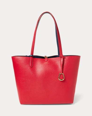 Reversible Faux-Leather Tote