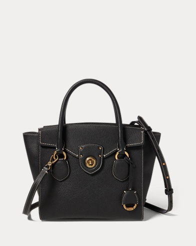 Pebbled Leather Medium Satchel