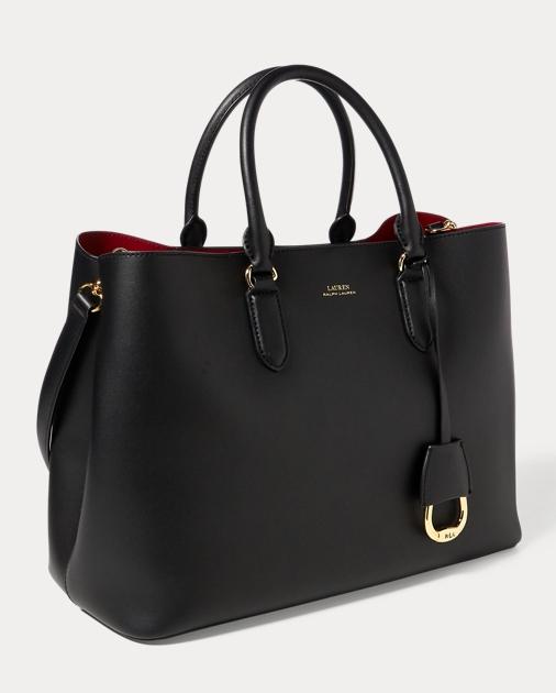 c67f63f9086 Leather Marcy Satchel | Ralph Lauren UK