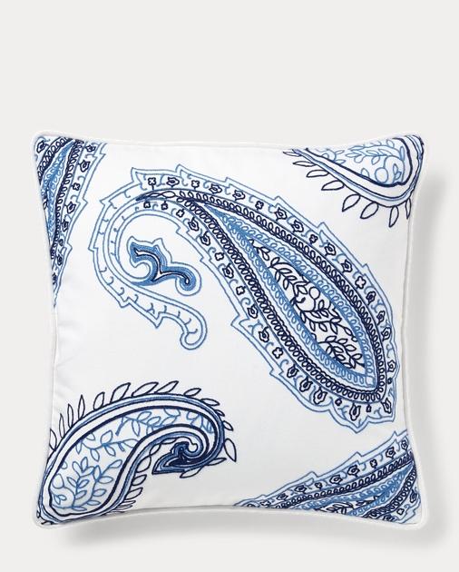 Nora Paisley Throw Pillow