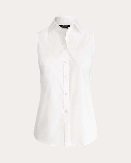 8cf21f9c9edb97 No-Iron Sleeveless Shirt | Ralph Lauren DE