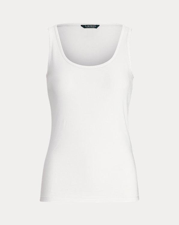 Cotton-Blend Tank Top