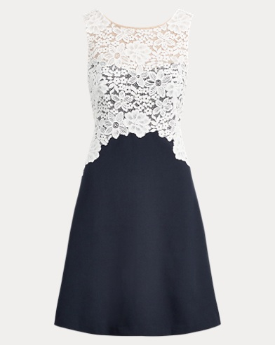 Lace-Bodice Dress