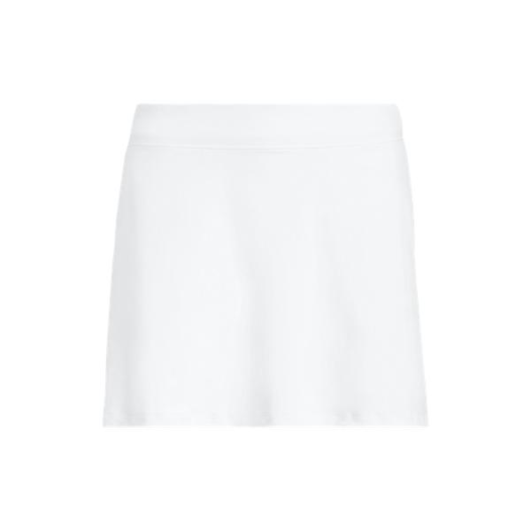 Ralph Lauren Golf Stretch Jersey Skort,Pure White