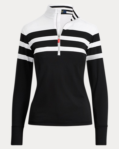 Stripe Stretch Jersey Pullover