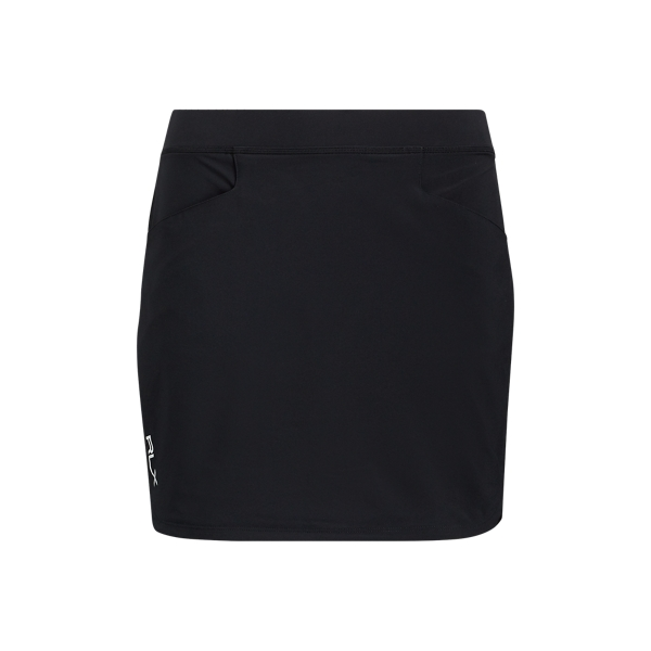 Ralph Lauren Stretch Jersey Skort Polo Black Xs