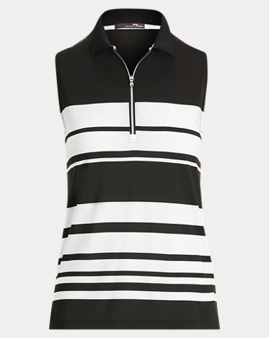 Striped Jersey Sleeveless Top