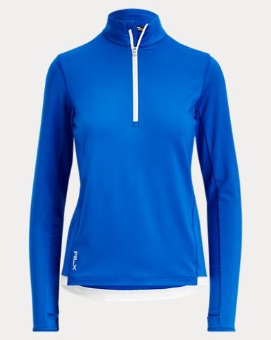 Jersey Half-Zip Pullover