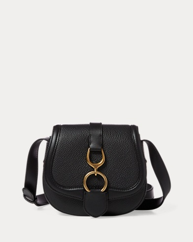 Leather Small Saddle Bag