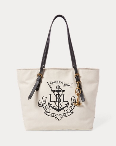 LRL Medium Canvas Tote