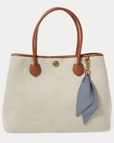 Canvas Large Market Tote