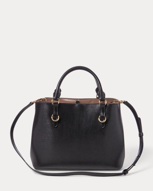 produt-image-2.0. produt-image-3.0. produt-image-4.0. WOMEN ACCESSORIES Bags  Saffiano Leather Satchel. Lauren a891571941
