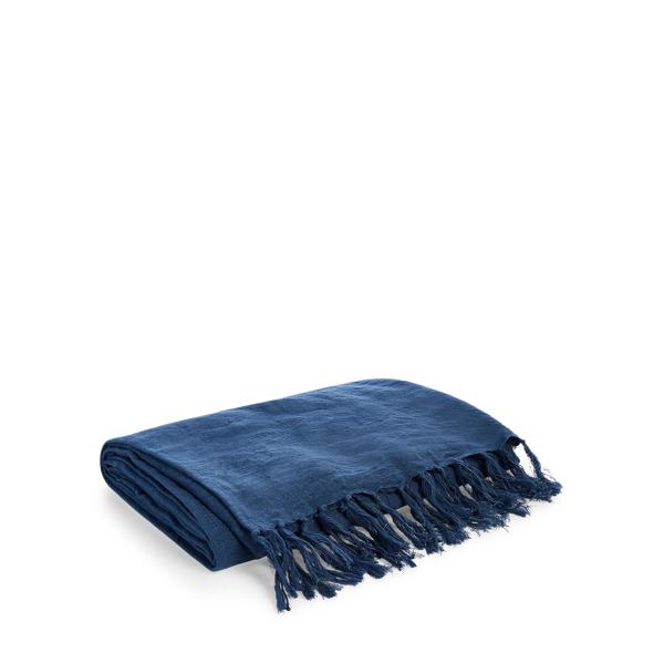 Ralph Lauren Elton Throw Blanket Essex Blue 54
