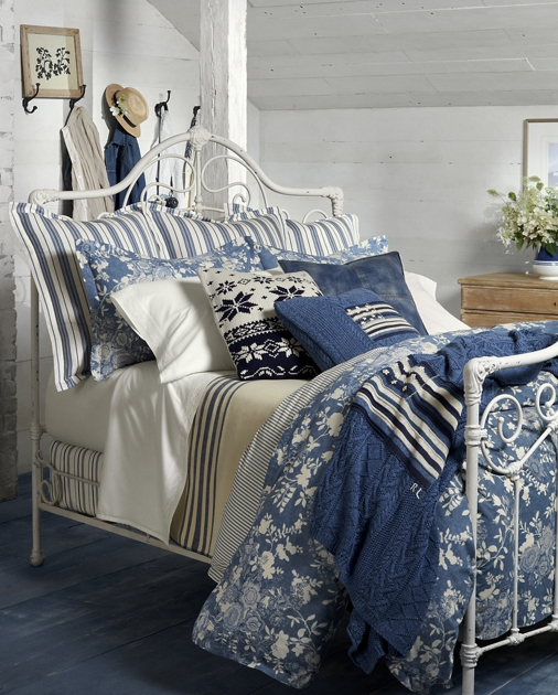 Indigo Cottage Bedding Collection