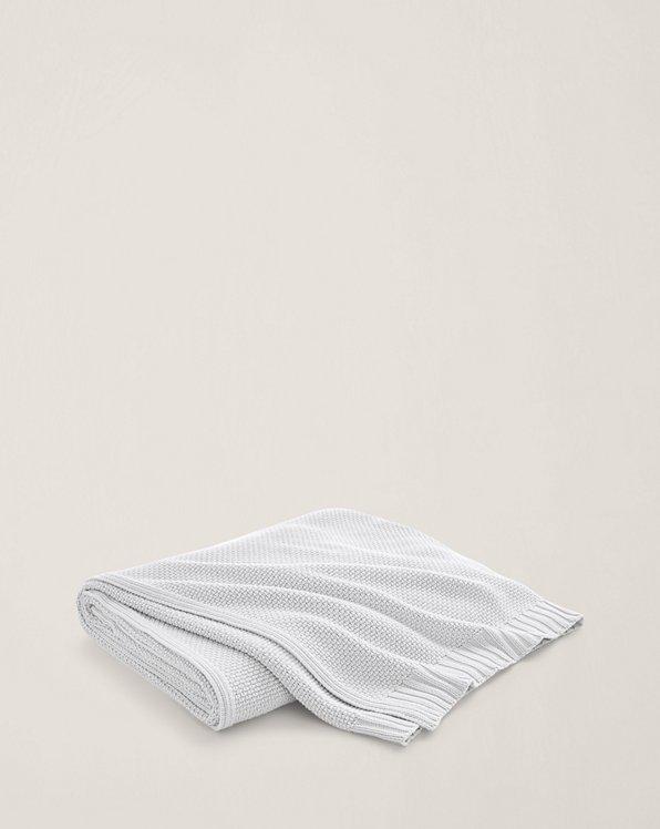 Couverture Ariel en tricot de coton